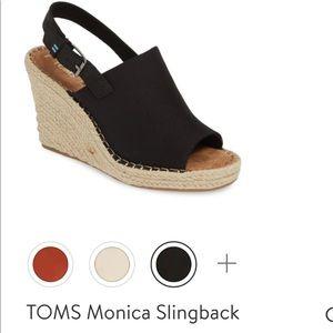 "Toms espadrilles ""Monica"" new never worn"